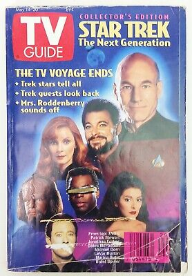 1994 Collector Edition Star Trek The Next Generation TV Guide