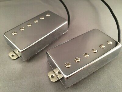 Warman Groove Babies - 60's vibe Alnico 2 humbuckers. Matched pair in chrome.
