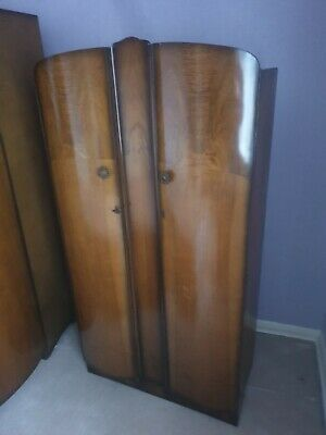 Vintage Double Wardrobe (it might be lebus, no label)