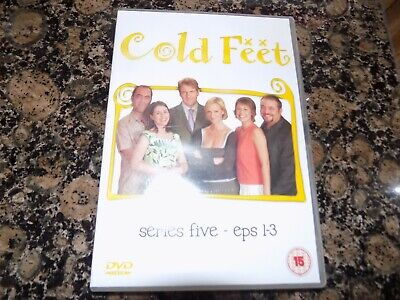 Dvd Cold Feet Series Five Episodes 1-3