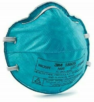 3M 1860s N95 REGULAR Particulate Mask Cold Flu Protection