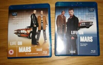 Life On Mars - Blu Ray series 1 & 2 mint condition