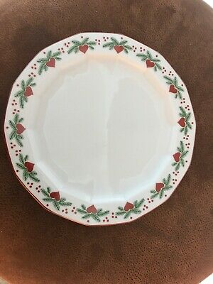 Porsgund (Norwegian Hearts and Pines Multisided Salad Plate - Excellent Cond