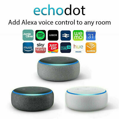 NEW Amazon Echo Dot 3rd Generation Smart speaker with Alexa - Charcoal