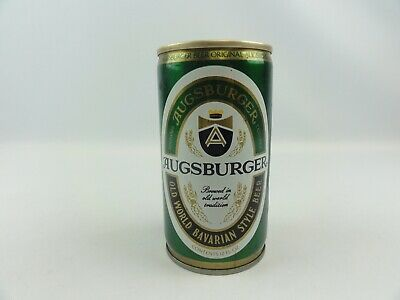 Augsburger Old World Bavarian Style Beer Can 12oz Jos Huber Brewing Co Pull Tab