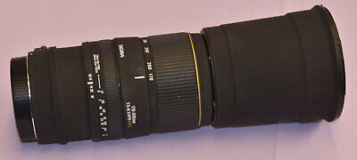 Sigma 170-500mm f/5-6.3 APO DG Camera Lens for Canon Digital SLR Not Working