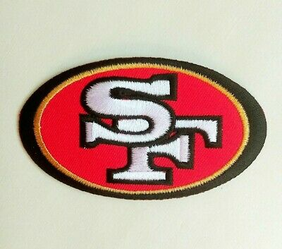 "San Francisco 49ers Embroidered 3.5"" Iron On Patch"