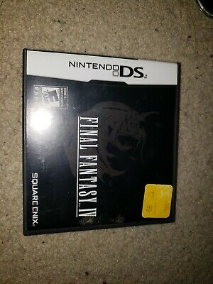Final Fantasy IV (Nintendo DS, 2008) authentic case only