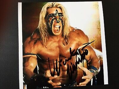 The Ultimate Warrior Hand Signed Autograph Photo - Wrestler