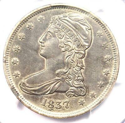 1837 Capped Bust Half Dollar 50C - PCGS XF Detail - Rare Certified Coin!