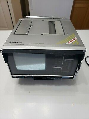 "Goldstar Portable Color TV 5"" With AM/FM RADIO RCV-0615"