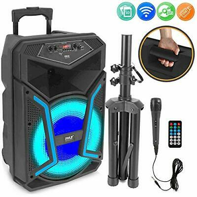 """New PPHP152BMU 15/"""" 1000W Portable Bluetooth Speaker FM Radio With Microphone"""