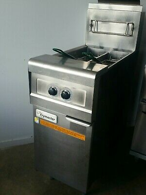 Refurbished  Frymaster PMJ145G-2SD SPLIT POT Twin Basket Deep Fryer w WARRANTY