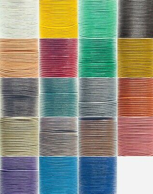 2mm Real Round Leather Cord 100% Genuine Jewellery Making Thong
