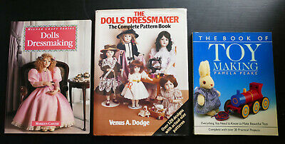 THE DOLLS DRESSMAKER Dodge patterns sewing doll clothes DRESSMAKING TOY MAKING