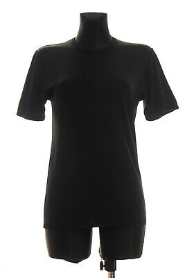 DOLCE & GABBANA Intimo Women's Black Top Size VI M/L * Made in Italy