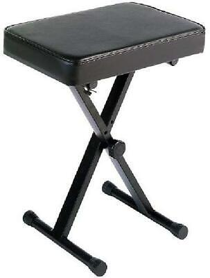 Yamaha Keyboard Bench Adjustable Padded Seat Portable Piano Chair Stool Comfort