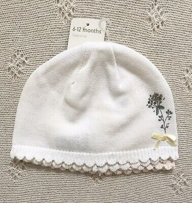 Mothercare Set of 2 Knitted Hats 6-12 Months. Never Worn.