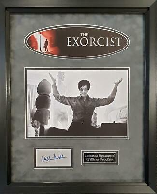 William Friedkin SIGNED AUTOGRAPH The Exorcist AFTAL UACC RD