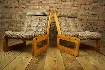 70er Sessel Vintage Easy Chair Clubsessel Kiefer Danish Modern Loungesessel 1/2
