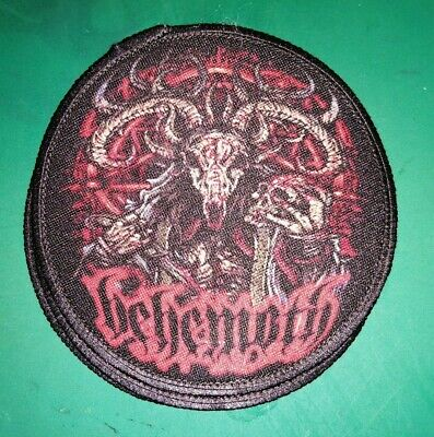 Behemoth Rock Band Sew or Iron on Patch NEW