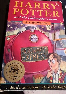 Harry Potter & the Philosopher's Stone by Rowling, J.K 1st Edition 5th Print. AU