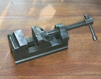 "small vintage Palmgren Drill Press or machine Vise - w 1 1/2"" Jaw"