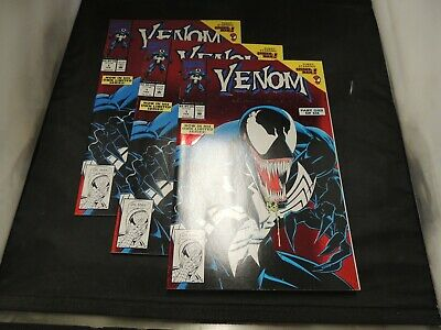 3 X Venom Lethal Protector #1 First Venom Solo Book Nm Or Better!! Unread Sharp!