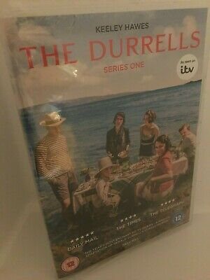 itv the durrells series 1 two dvd keeley hawes corfu gerald durrel 30s adventure