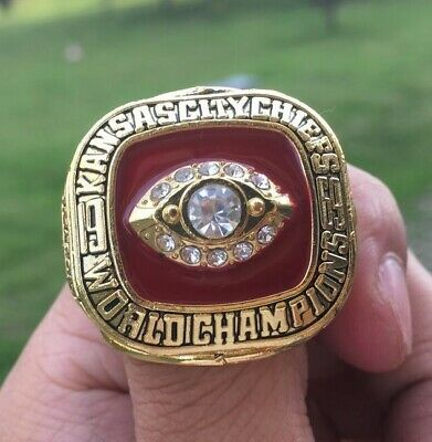 1969 Kansas City Chiefs Super Bowl Ring Championship Ring  - BRAND NEW !!!