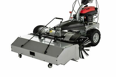 Petrol Sweeper Pedestrian road Sweeper With Free Plough and collection box