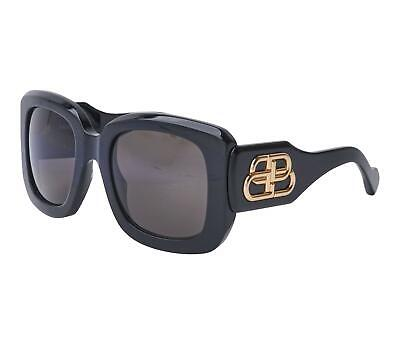 Balenciaga Extreme BB0069S Col 001 Polarized Sunglasses MSRP $490