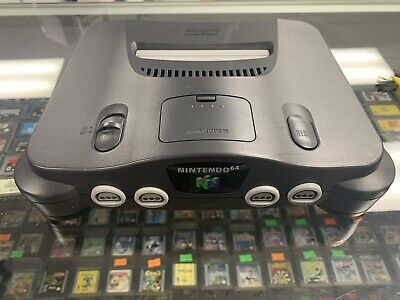 Nintendo 64 N64 NUS-001 USA Version Game Console Only Tested / Working