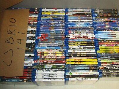 141 BLURAY dvd lot * BLU RAY wholesale bulk movie  * CJBR10