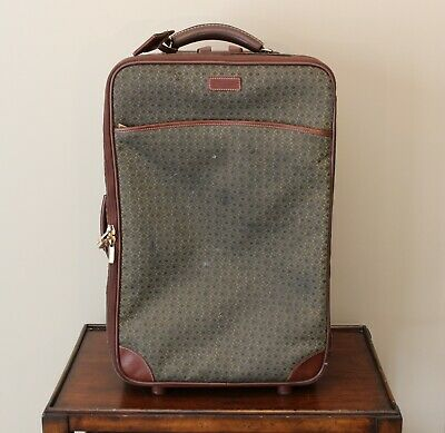 """Hartmann Wings 22"""" Carry-On Wheeled Rolling Bag Suitcase Luggage Jaquard Diamond"""