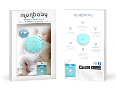 Monbaby Smart baby monitor (Blue)
