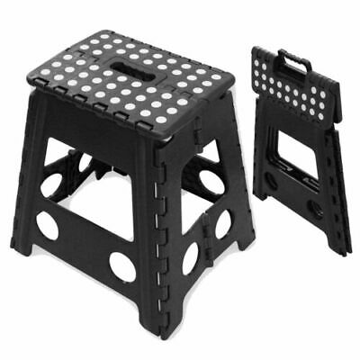 Plastic Folding Step Up Stool Heavy Duty 2 Step Stool Multi Purpose Caravan Home