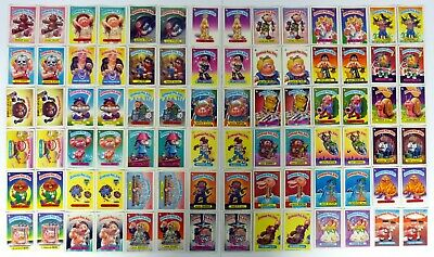 GARBAGE PAIL KIDS SERIES 4 SET Topps #125-166 A & B 84 Cards COMPLETE 1986