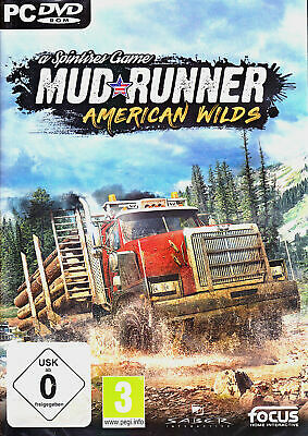 MudRunner (a Spintires Game) American Wilds Edition PC NEU