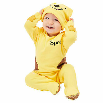 Baby Spot the Dog Costume Child Animal Book Day Week Fancy Dress Kids Outfit