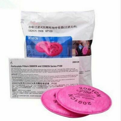 Dust Mask Painting Spray Industry Particulate Filter 6200 Series Respirator