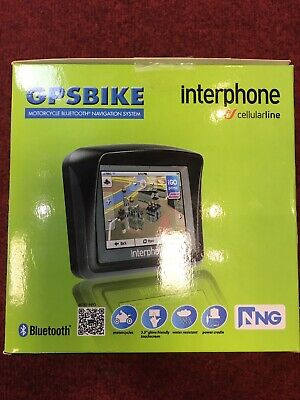 Interphone Europe Motorcycle Navagation System