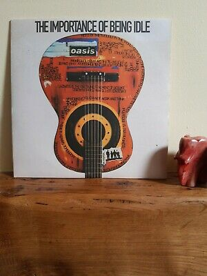"""Oasis - The Importance Of Being Idle / Vinyl 7"""" / Everything Must Go"""