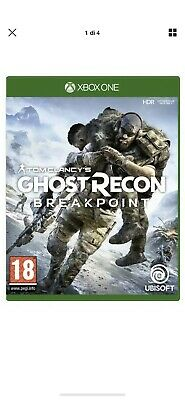 tom clancy's Ghost Recon Breakpoint Xbox One DIGITALE NO KEY