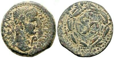 NERO, SELEUCIS and PIERIA, ANTIOCH.ANCIENT ROMAN AE COIN