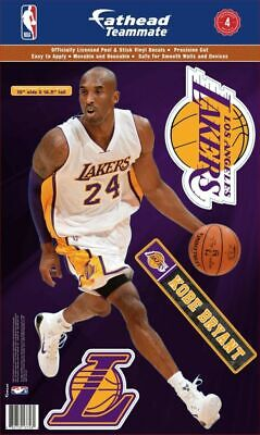 Kobe Bryant Los Angeles Lakers Officially Licensed Fathead Teammate 10'x16.5' in