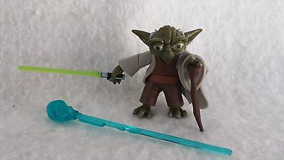 Star Wars Master YODA Firing Force-Blast action figure The Clone Wars TCW CW #3