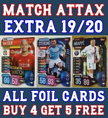 Match Attax Extra 19/20 2019/20 100 Club Limited Edition Man Of The Match Hero
