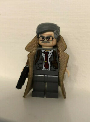 Lego Custom DC Comics Commissioner Gordon (Batman) Minifigure Minifig