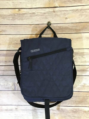 Ogio International Blue Tablet Messenger Cross Body Bag